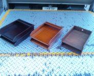 木製決済箱 各種