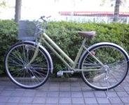 カジュアル自転車27インチ(グリーン)