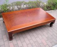 5尺欅座卓