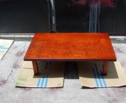 4尺欅座卓