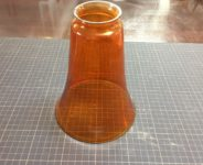 ガラスシェード オレンジ
