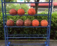 バスケットボールラック5段
